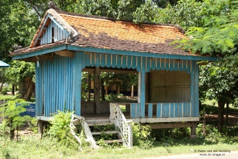 Little house along the road