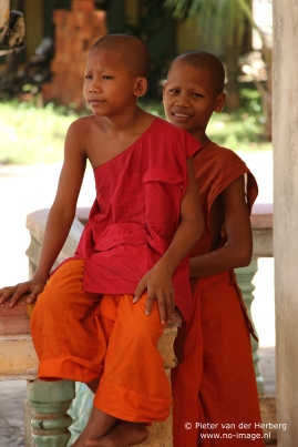monks sitting together